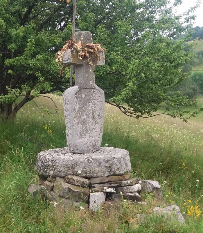 Cross of stone