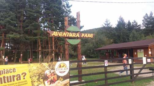 Parc Aventura Humor