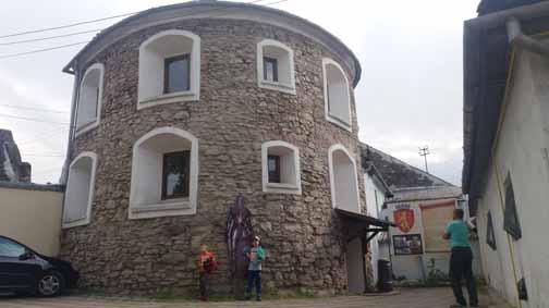 Semirotund Bastion