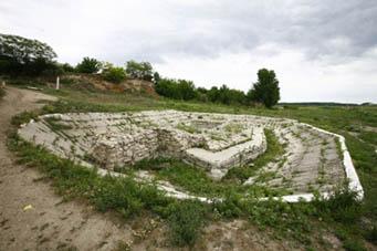 Dacian fortress Sucidava