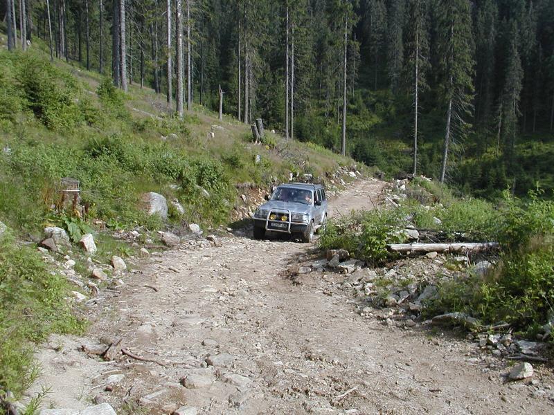 Off road trip Bucegi Mountains