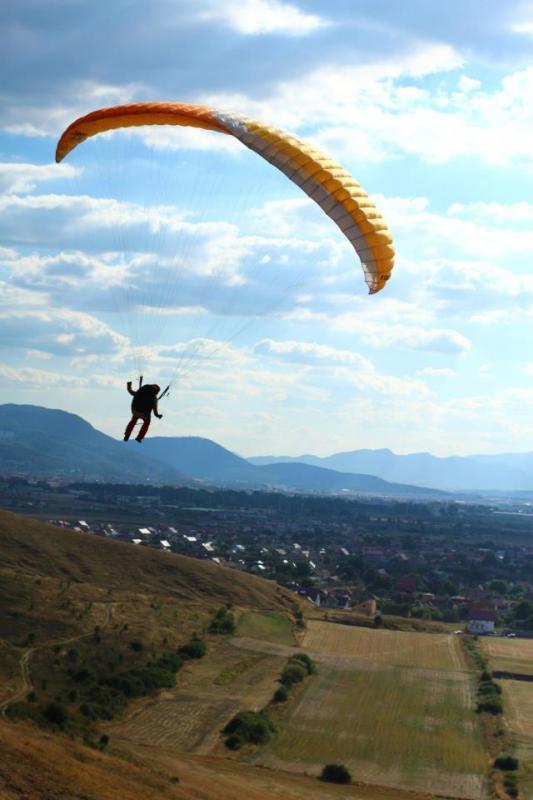 Hang- gliding school