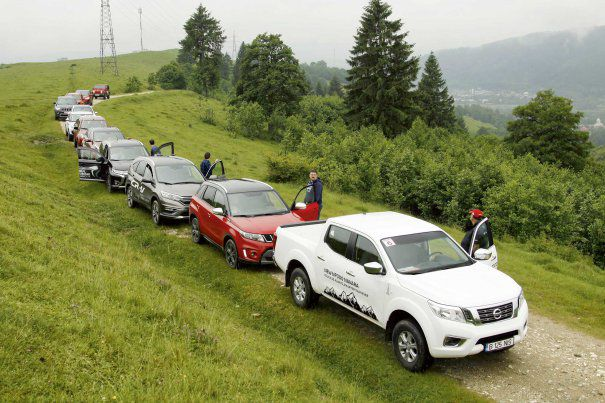 4x4 Car competition